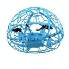 Kleurrijke licht inductie Flying Ball Afstandsbediening Vier-assige Drone volledig beschermd grid handheld vlak  stijl: blauwe sensor