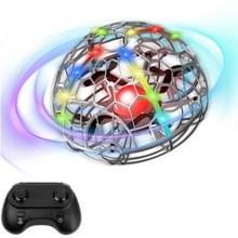 Kleurrijke lichtinductie Flying Ball Afstandsbediening Vier-assige Drone volledig beschermd grid handheld vlak  stijl: grijze sensor + afstandsbediening