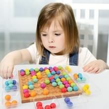 Gekleurde kralen voor fun ouder-kind interactie concentratie training houten vroege kindertijd Onderwijs Bordspel