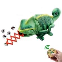 8888 Kinderen Elektrische Infrarood Afstandsbediening kruipen kameleon kleurrijke ademhaling licht lastig speelgoed
