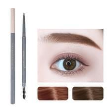 5 PCS Beauty Soso Ultra-Fine Wenkbrauw Potlood dubbelhoofdige wenkbrauw potlood waterdicht en zweet-proof make-up beauty tools  netto gewicht: Fijne ronde vulling (1 Honing Thee Brown)