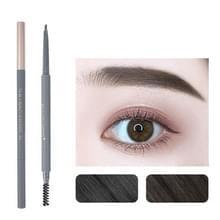 5 PCS Beauty Soso Ultra-Fine Wenkbrauw Potlood dubbelhoofdige wenkbrauw potlood waterdicht en zweet-proof make-up beauty tools  netto gewicht: Fijne ronde vulling (4 rokerige as)