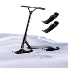 2 PCS Kinderen schaatsen Scooter Sled Ski Voertuig Accessoires Dual-Purpose Ski Vehicle Tweewielige Outdoor Equipment