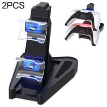 2 PCS Gamepad Bracket tweezitslader voor PS5