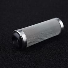 3 PCS Stainless Steel Water Inlet Beschermhoes Aquarium Filter Water inlaat zuigfilter cover  specificatie: Zwart 16mm