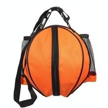 WJ0122 Outdoor Sports One-Shoulder Volleybal Basketbal Voetbalrugzak (Oranje)