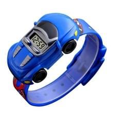 SKMEI 1241 Fashion Cute Cartoon Car Kinderen Digitaal Horloge (Blauw)