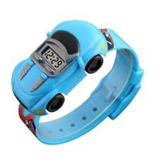 SKMEI 1241 Fashion Cute Cartoon Car Kinderen Digitaal Horloge (Lichtblauw)