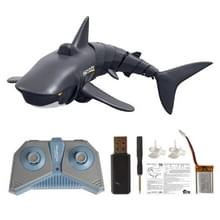 T11 Electric Wireless Remote Control Simulation Can Launch Shark Remote Control Boat Educational Toy(Black)