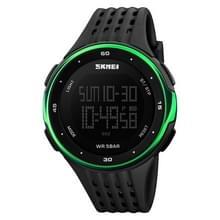 SKMEI 1219 Mannen Multi-Functie Elektronisch Horloge Outdoor Sports Watch (Groen)