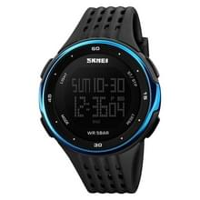SKMEI 1219 Mannen Multi-Functie Elektronisch Horloge Outdoor Sports Watch (Blauw)
