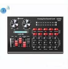 R8 Bluetooth Sound Card Mixer Mobiele Telefoon Computer Anchor Live K Song Sound Processor