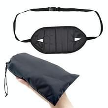 Draagbare mini Foot rest hangmat voor kantoor huis stoel (Balck)