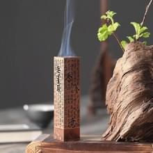 Antieke bronzen wierook brander Tea Room Tea Ceremony Zen Wierook Brander (Rood Koper)