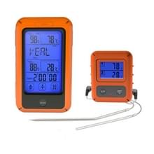 Wireless Food Thermometer Household Touch Screen BBQ Dual-Channel Keuken Thermometer