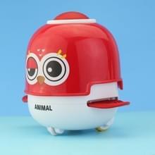 3 PCS Baby Inertial Pull Back Toy Press Fun Animal Pet Speelgoed  Kleur: Eaglet (Rood)