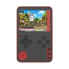 RS-60 Ultra-Thin Card Handheld Game Console met 2 4 inch Scherm & 500 Retro Games(Rood)