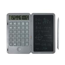Oplaadbare Writing Board Calculator Portable Multi-Function LCD Student Handwriting Board (Grijs)