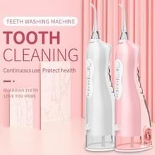 Q1 Flushing Tanden Reinigingsapparaat Portable Electric Water Floss Oral Rinse Machine (Roze)