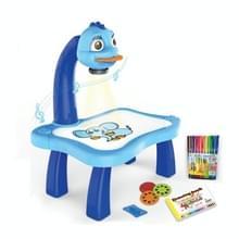 Smart Children Projectie Painting Board Multifunctionele Tekentafel Speelgoed Set (Blauw)