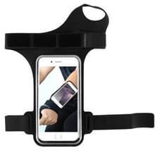 Running Sports Mobile Phone Wrist Bag  Specificatie:Onder 5 5 inch (Zwart)