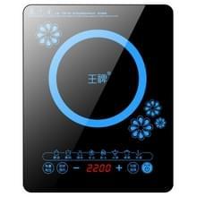 WP Huishouden Kleine Energiebesparende Hot Pot Inductie Cooker Elektrische Countertop Stove  CN Plugs (Petals Blue)