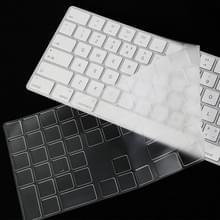 T17606 Computer Keyboard Film Transparante TPU Nano Lange Toetsenbord Beschermende Film Voor iMac 2017 Magic Keyboard (met Number Model)