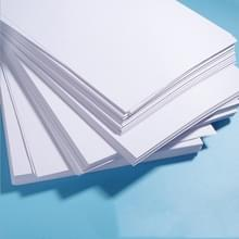 Wit A4-afdrukpapier dubbelgecoat kopieerpapier voor Office  Style:80G White 100-vellen