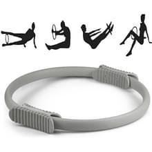 Yoga Pilates Ring Yoga Body Fitness Magic Circle  Binnendiameter: 32cm(Grijs)