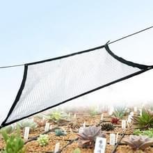Balkon tuin zonnebrandcrème schaduwnet dubbelzijdige isolatie netwerk encryptie groene planten netto  specificatie: 2x3m zwart-wit