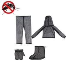 Camping Avontuur Anti-Mosquito Suit Zomer Vissen Ademende Mesh Kleding  Specificatie: Vierdelige (S / M)