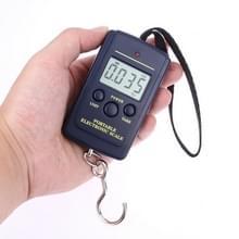10g mini digitale vissen schaal reizen weging Stalhof opknoping elektronische haak schaal keuken gewicht tool  capaciteit: 40kg zonder backlight