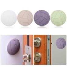 4 STKS/set koelkast deur handvat crash pad zuignap dikke siliconen sticker  willekeurige kleur levering