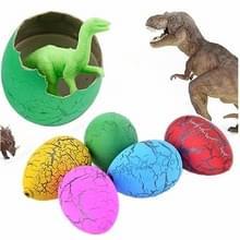 6 stuks kleine grootte hatching dinosaurus eieren  willekeurige kleur levering