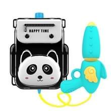 Childrens Rugzak Water Speelgoed Animal Cartoon Rugzak Pull Air Pressure Jet Speelgoed (Red Panda)
