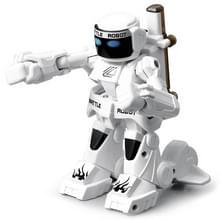 777-615 Battle RC robot 2.4 G lichaam Sense afstandsbediening speelgoed voor kinderen cadeau Toy model Mini slimme robot battle speelgoed voor jongens (wit)