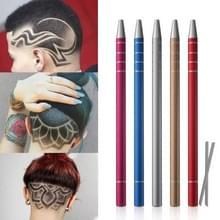 2 stuks carving pen magische gravure haar stijl Razor pen olie hoofd nicked Tattoo pen schraper