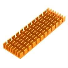 Aluminium legering heat sink met thermische silica pad hoge kracht thermische isolatie