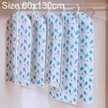 Thicken Solid PEVA kleding stof cover pak vacht waterdichte beschermer opbergtas met rits  specificatie: 60x110cm (blauw)