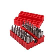 33 in 1 elektrische schroevendraaier veiligheids bit set met magnetische Verleng boorhouder