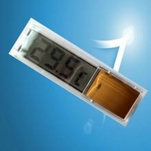 Multi-functioneel LCD 3D digitale elektronische temperatuurmeting vis tank aquarium thermometer (goud)