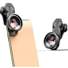 APEXEL APL-HD3080 Universele externe SLR 30-80mm Macro mobiele telefoonlens  specificatie:Telefoto Clip