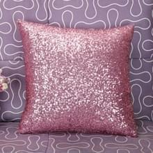 KL-1-14 Glitter Sequins Sofa Throw Pillow Cover Voor Home Decoratie Sofa Cushion Case (Roze)