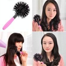 3D ronde haarborstels kam salon make-up 360 graden bal styling magie ontwarren borstel hittebestendig haar kam