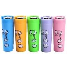 3 PC'S kinderen cartoon plastic draagbare Piggy Bank  willekeurige kleur levering