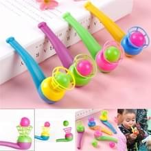 3 PC'S kinderen speelgoed schorsing klap bal nostalgische speelgoed blazen muziek Magic opknoping bal  willekeurige kleur levering
