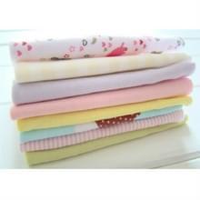 8 STKS/partij katoen pasgeboren baby handdoeken speeksel handdoek baby jongens meisjes Nursing handdoek zakdoek (meisjes kleur)