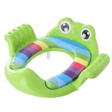 Baby wc-bril kussen wc-bril ring baby extra toilet kinderzitje wasmachine (groen)