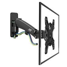 NB F350 aluminium gas voorjaar Muurbevestiging volledige Motion monitor houder arm voor 40-50 inch LCD LED TV  laden 17.6-35lbs (8-16kgs) (zwart)