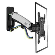 NB F350 aluminium gasveer Wall Mount Full Motion monitor houder arm voor 40-50 inch LCD LED TV  laden 17.6-35lbs (8-16kgs) (zilver)